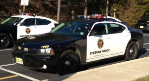 Evesham Police Car